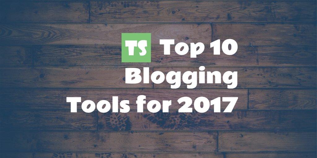Top 10 #Blogging #Tools for 2017  #Blog  #SEO  http://www. techsparkle.com/top-10-bloggin g-tools-2017/ &nbsp; … <br>http://pic.twitter.com/xJg4zoxxKe