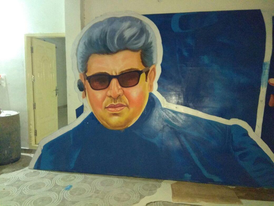 Trichy Ajith Fans On Twitter Powerful Cutout Getting Ready By Mirattal Star Ajith Narpani Iyakkam Trichy  F F  B F F  E Festival Mode Vivegam  F F  F E C A