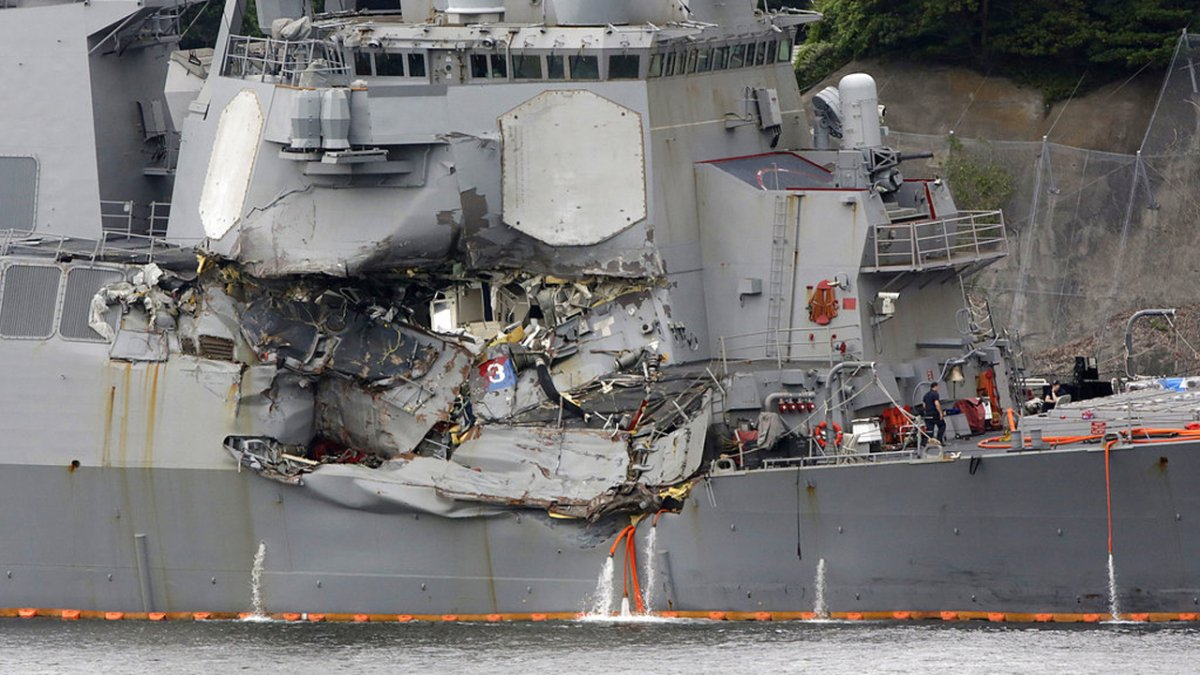 Senior officer on USS Fitzgerald to be relieved of command  https://t.co/fJmolHsmiT