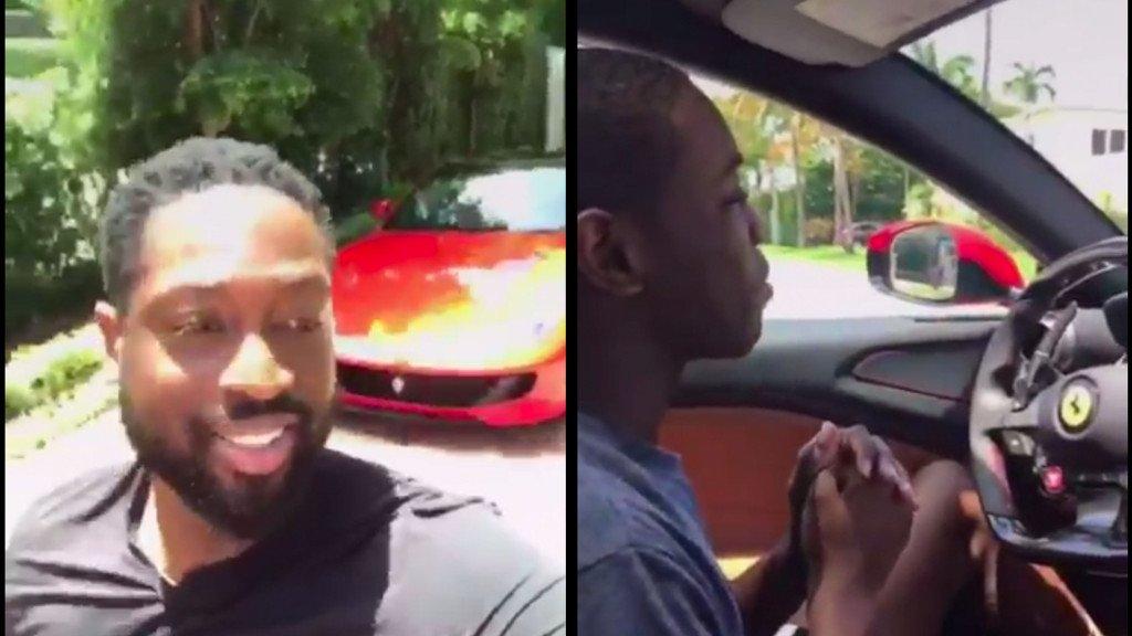 【影片】法拉利超跑當教練車是一種怎麼樣的體驗?閃電俠的兒子來告訴你…