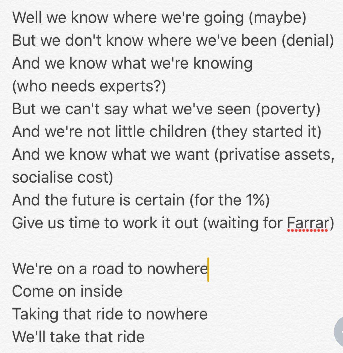 #changethegovt #nzpol #roadtonowhere https://t.co/mImM6veOq6