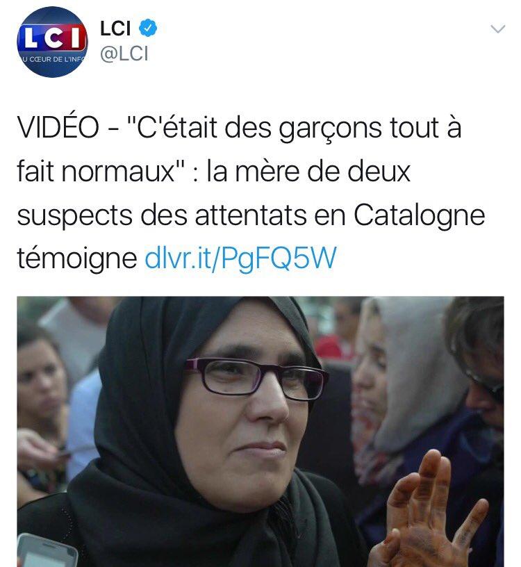 Choquante ni larme ni émotion... Ils vivent au cœur de nos démocraties, détestent notre culture imposent la leur nous haïssent et nous tuent