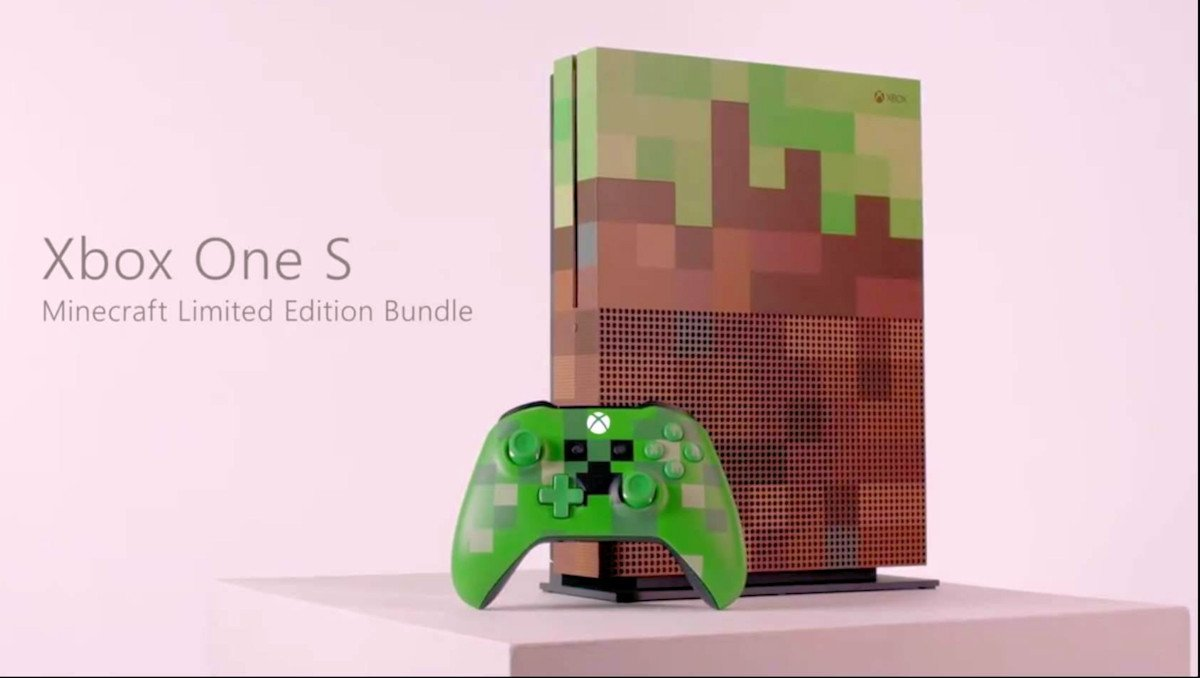 Xbox One S Minecraft Limited Edition leaks ahead of GamesCon - https://t.co/vxKaf98UST https://t.co/kZoja09olA