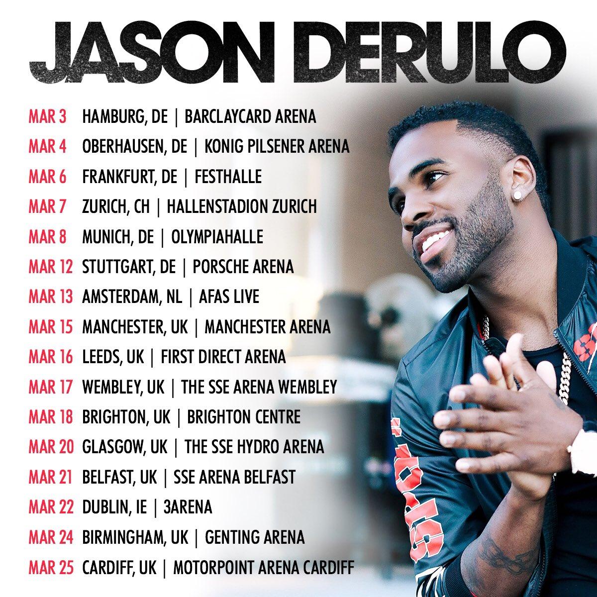 Jason Derulo Concert Tour