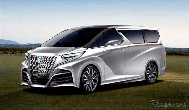 トヨタ、アルファード コンセプトを発表!? 次期型デザインを大予想 https://t.co/yzSUBa1phx  #トヨタ #アルファードコンセプト #東京