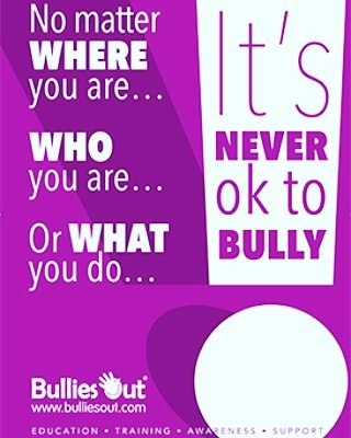 BULLYING IS NEVER OK. Join  http://www. bulliesout.com  &nbsp;   and show your support #bullying #bullyingisnotok #support #education #awareness<br>http://pic.twitter.com/xWJ6z4H2mg