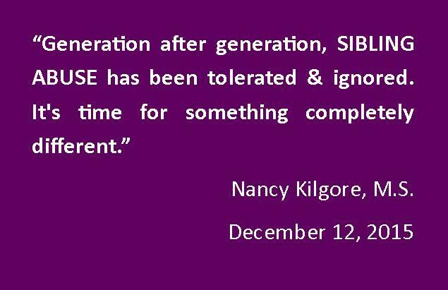 #bullying #bullies Sibling Abuse Survivors often do not get right therapist or helpful therapy.  http://www. hope4siblings.com  &nbsp;  <br>http://pic.twitter.com/BS3DlCvlr3