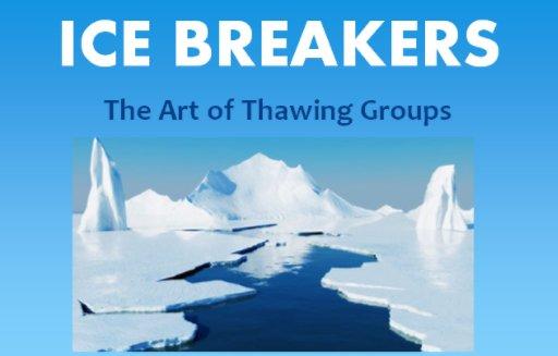 Cheesy ice breakers