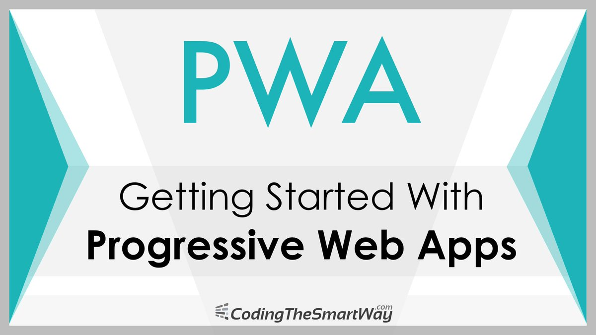 FREE &amp; NEW video tutorial: Getting Started with Progressive Web Apps  http:// codingthesmartway.com/getting-starte d-with-progressive-web-apps-pwa/ &nbsp; …  #webdev #pwa #javascript #html #nodejs #js<br>http://pic.twitter.com/EciINtBVdk