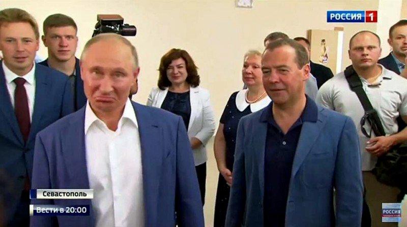 """Людей беспокоит """"информационный беспредел"""", - Путин предложил подумать о способах цензуры в России - Цензор.НЕТ 4486"""
