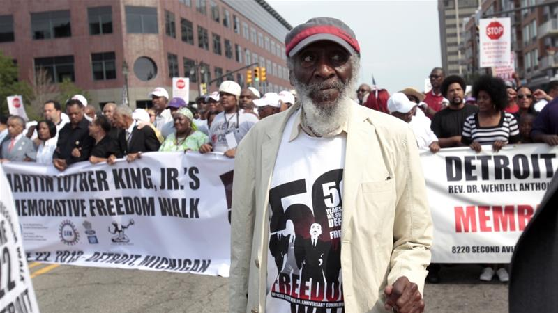 Dick Gregory, US civil rights activist and comedian, dies https://t.co/yu69blqU7I
