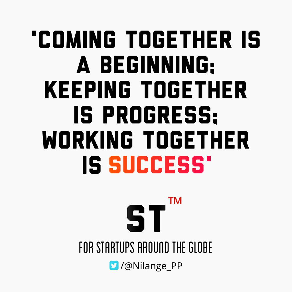 Working #Together = #Success! #startups #MakeYourOwnLane #Entrepreneur #defstar5 #mpgvip #spdc #smm #dji #ml #AI #SEO #UX #socialmedia #QOTD<br>http://pic.twitter.com/MseDhSXDKL