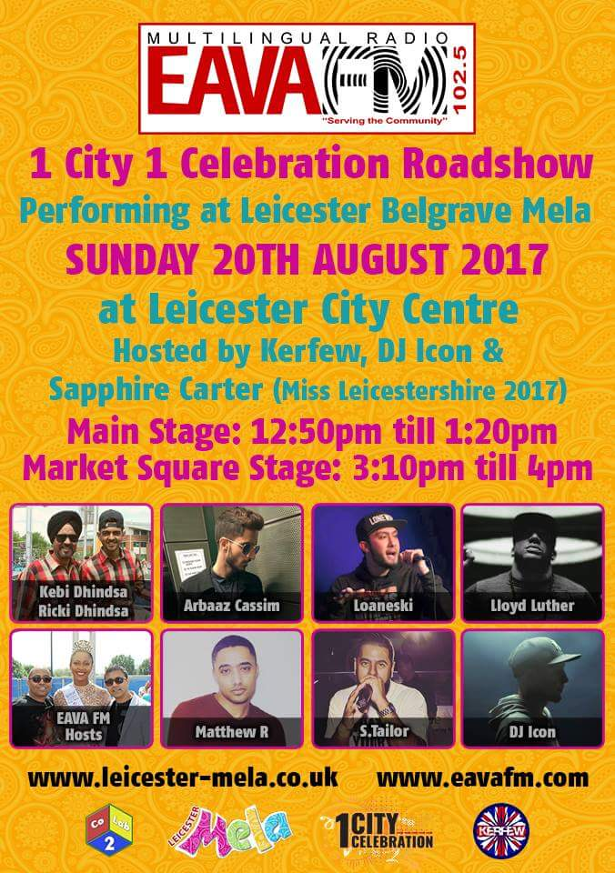 Today is @leicestermela see you all there! @arbaaz_cassim @Loaneski @lloydluther1 @saphireaaliyahx @IMAKETHEPARTY @DJIconUK #festival <br>http://pic.twitter.com/8n6QEPs8GR