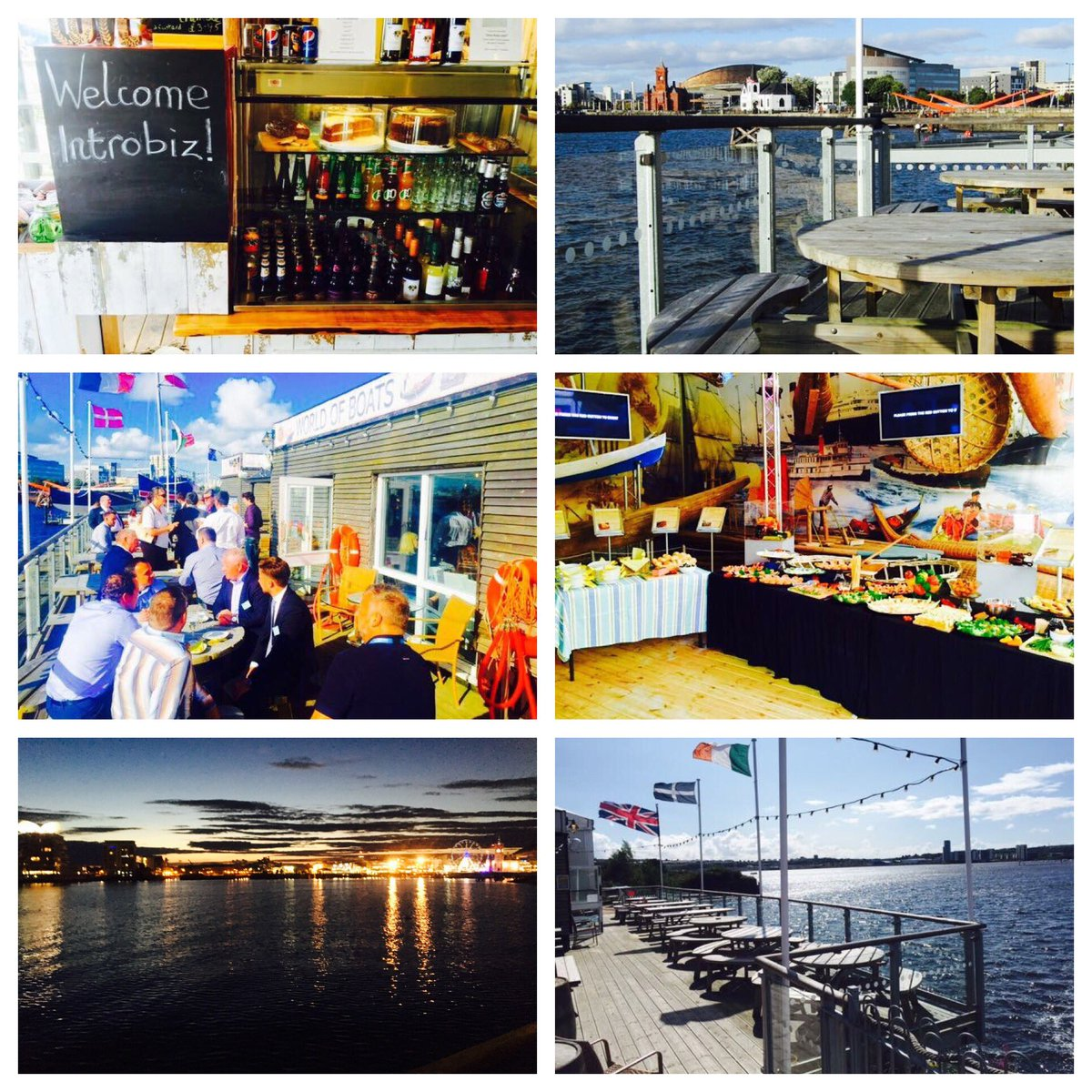 Join us #Cardiff&#39;s most fabulous views next weeks #Introbiz Social Networking Event @WorldofBoats1 Thursday 24th Aug  http://www. introbiz.co.uk/cardiff-busine ss-networking-events-wales/diary/ &nbsp; … <br>http://pic.twitter.com/WbDiNhz4K3