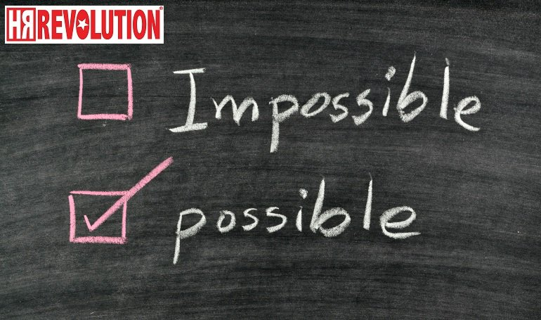 Impossible, two letters too long ... Everything is possible if you put your mind to it #HR #HRNews #Positive #outsource<br>http://pic.twitter.com/8ejytQVoPZ