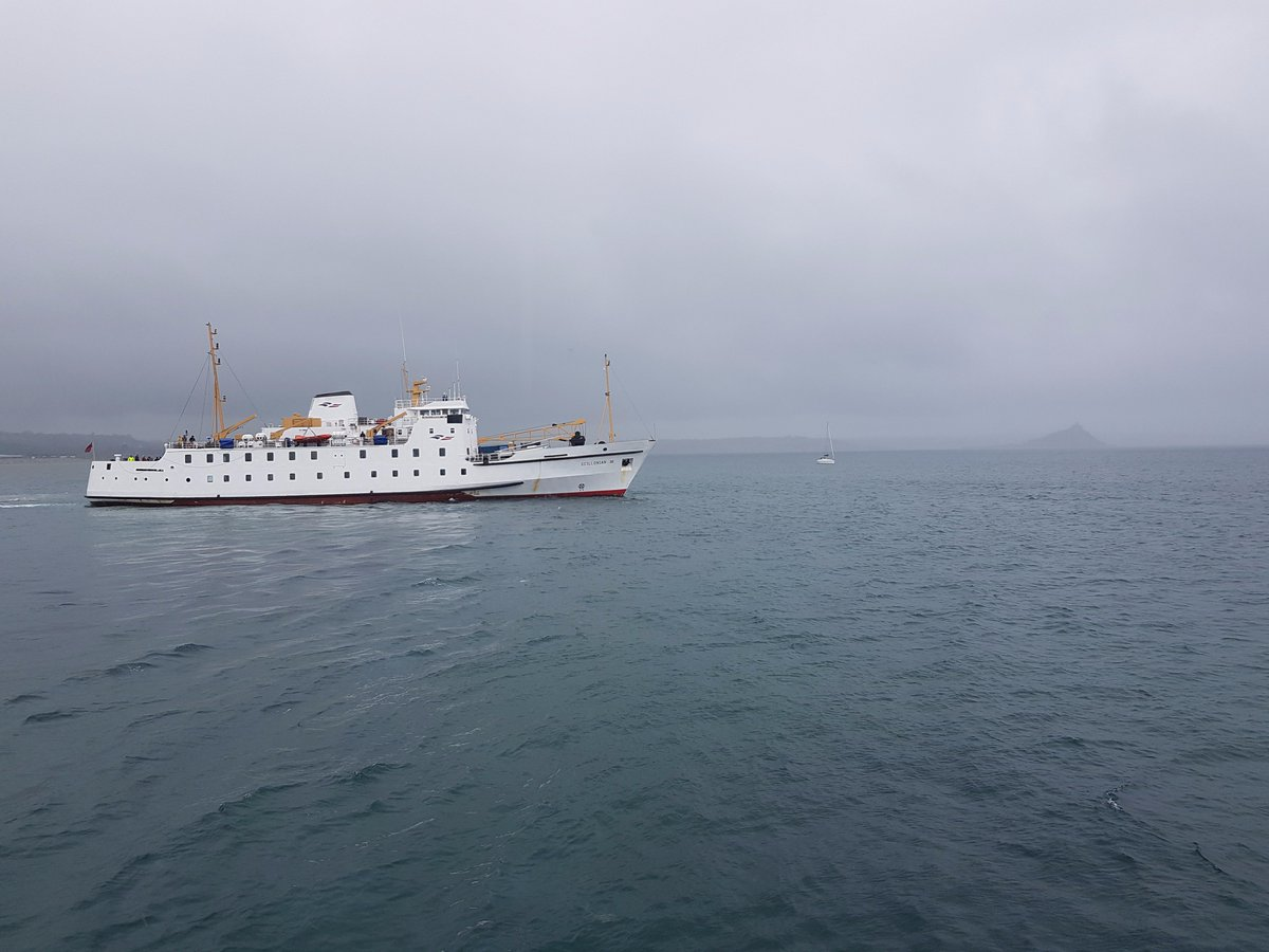 20/08/17 - Scillonian III departed Penzance at 09:05.