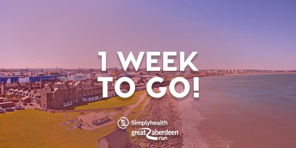 Not long now #Aberdeen  Who&#39;s going to be on the start line for the very first @SimplyhealthUK#GreatAberdeenRun?<br>http://pic.twitter.com/xWdI9xdmaM
