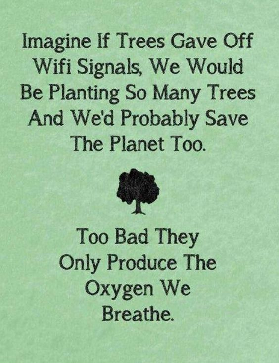 Too Bad trees only produce the oxygen we breathe. #GoGreen #awareness #ActOnClimate (via Thewritefuture)<br>http://pic.twitter.com/BMQF0T0B15