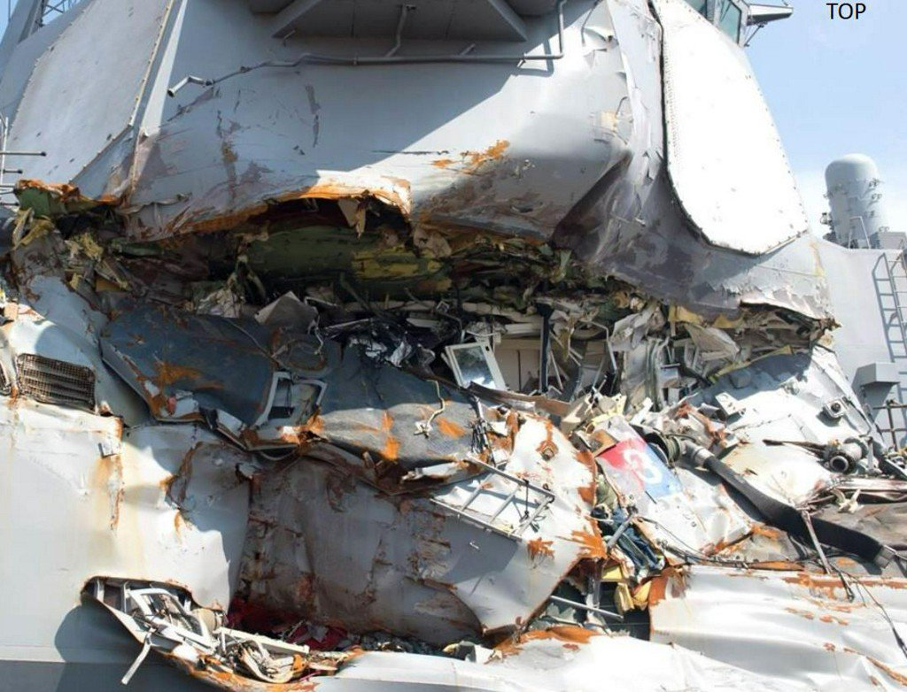 Navy to relieve USS Fitzgerald leadership following deadly collision https://t.co/UgwDBDzbUX
