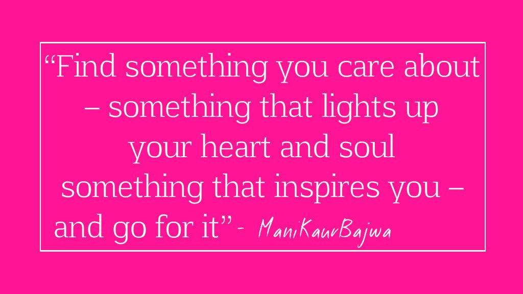 Just Say How it is - #SundayBrunch  Read more -  https:// justsayithowitis.com/2017/08/18/fin d-something-you-care-about-something-that-lights-up-your-heart-and-soul-something-that-inspires-you-and-go-for-it-mani-kaur-bajwa/ &nbsp; …  #blog <br>http://pic.twitter.com/cxSlAHaoql