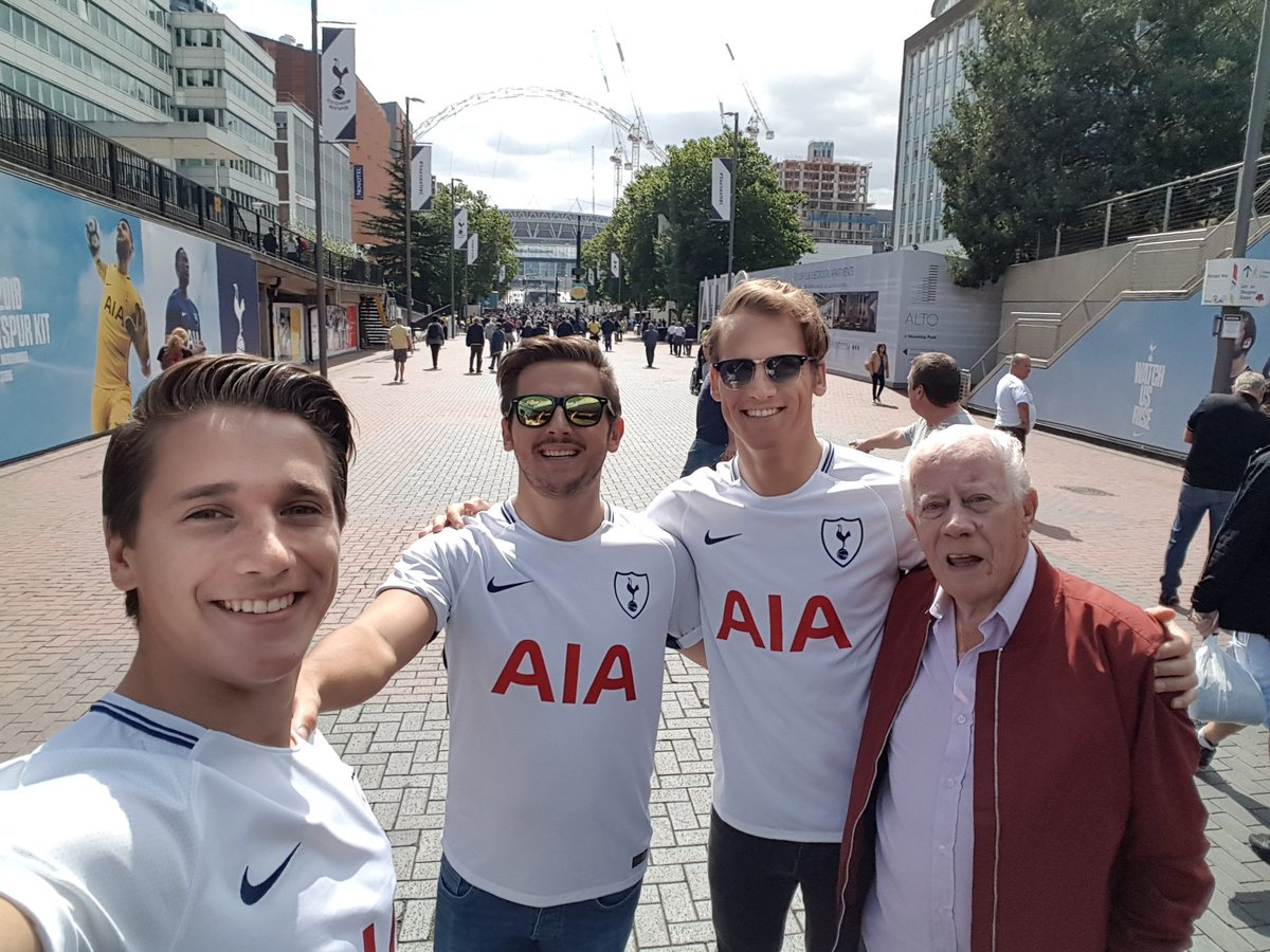 Little treat for my 3 boys today!!! @JamesWilson_94 @BenMattWilson @SpursOfficial #TOTCHE #COYS #witkankers #brothers  <br>http://pic.twitter.com/9lO3xr89Sa