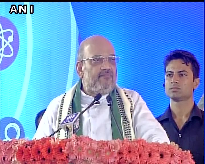 Youth sought jobs earlier. Through Stand-Up &amp; Startup the job-seeking youth has become job-creator: #BJP President #AmitShah<br>http://pic.twitter.com/6ffX0OMW4A