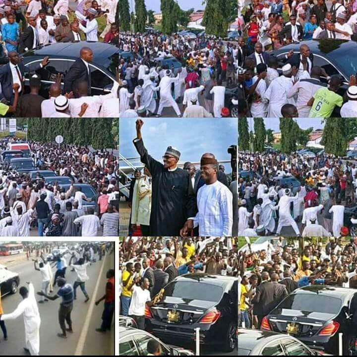 All in one #picture   #BuhariReturns #BabaOyoyo #OyoyoBaba   @JackObinyan @Ayourb @DeeOneAyekooto @jag_bros @MsTyma_ @MrAbuSidiq<br>http://pic.twitter.com/PNAFkEMpUW