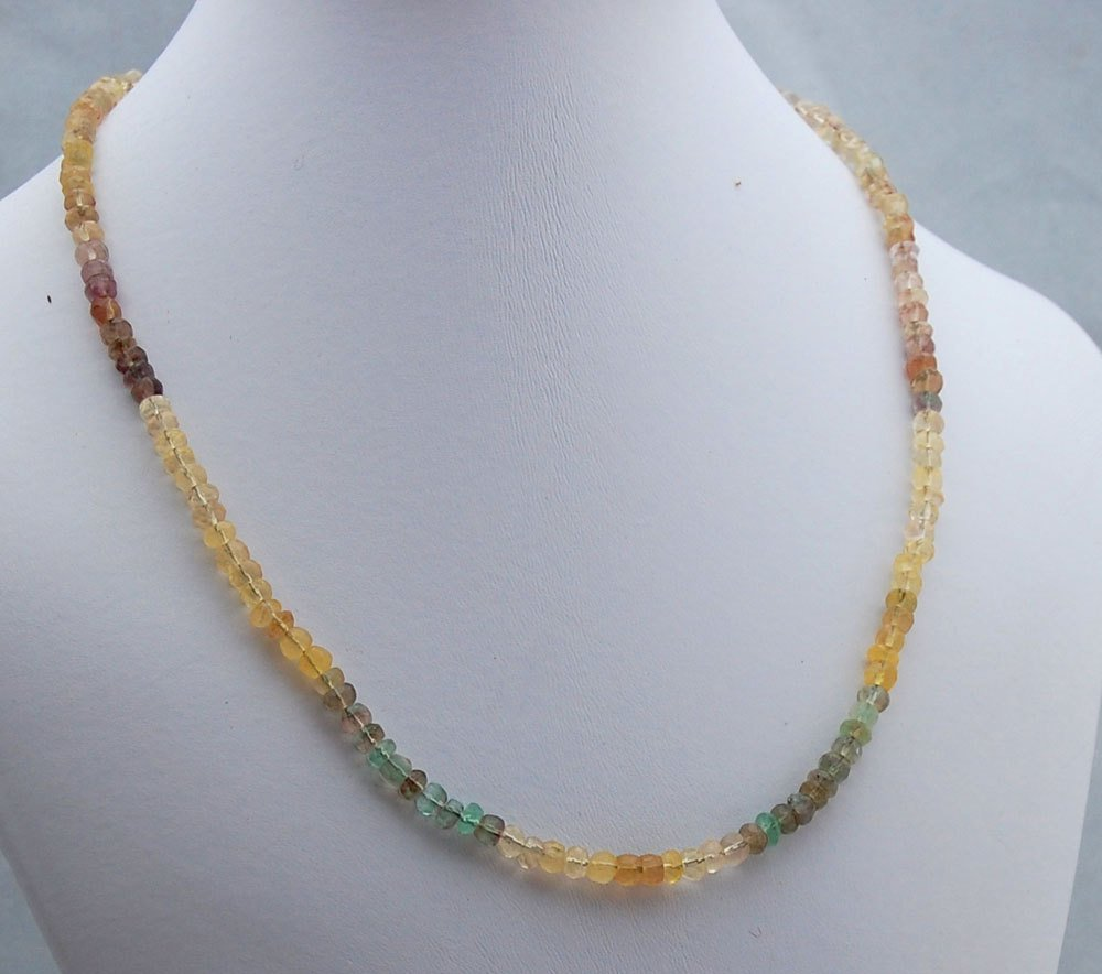 Fluorite Gemstone and Sterling Silver Necklace, Ombre Gemstone Neckla…  http:// tuppu.net/779f7de3  &nbsp;   #Etsy #SilverNecklace<br>http://pic.twitter.com/dHScPT7miy