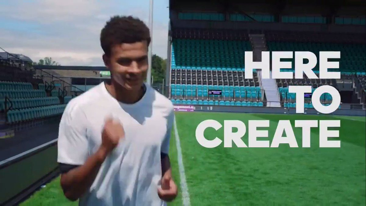 Inject your game with creativity. ⚡️ @Dele_Alli is #HereToCreate. http...