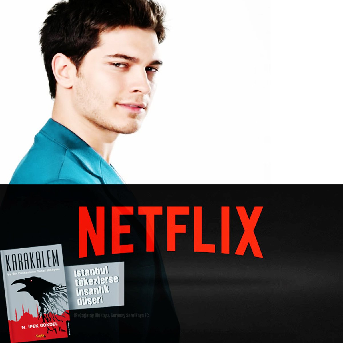 New series Netflix based on the book #Karakalem  Çağatay Ulusoy project began filming in December /17  #ÇağatayUlusoy #Netflix <br>http://pic.twitter.com/45AglcqXEl