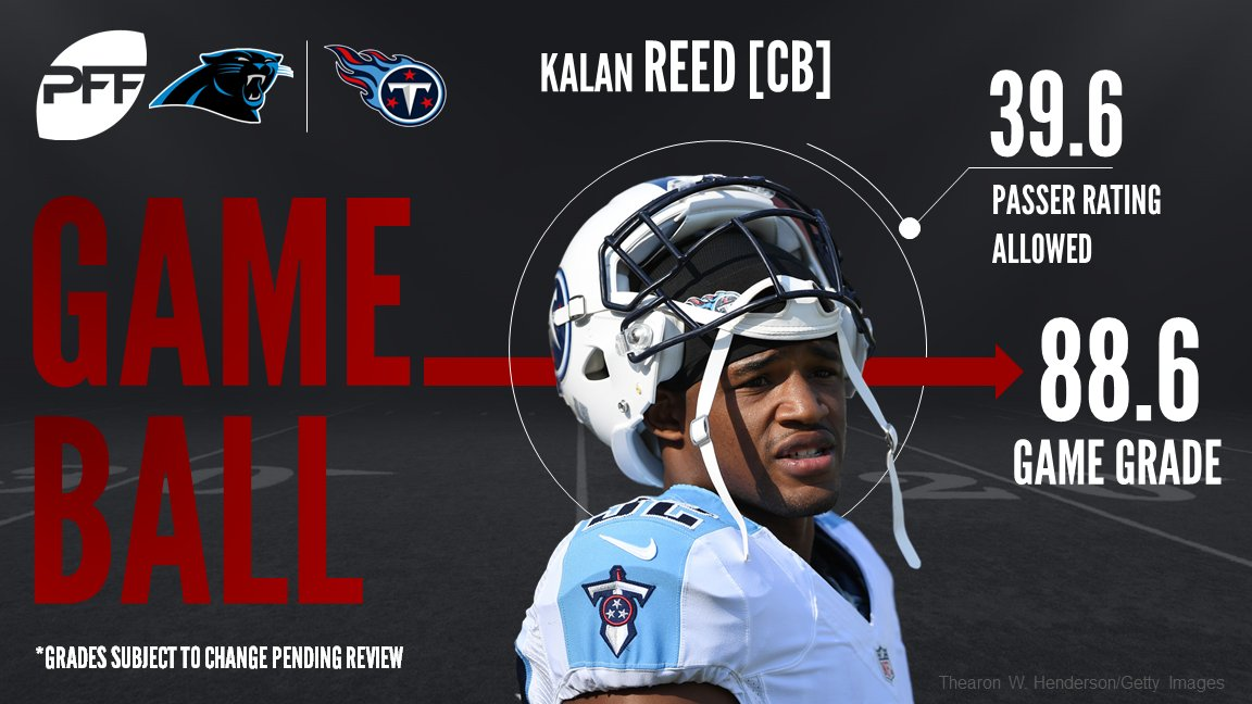 For the second week in a row, former Mr Irrelevant Kalan Reed earns th...
