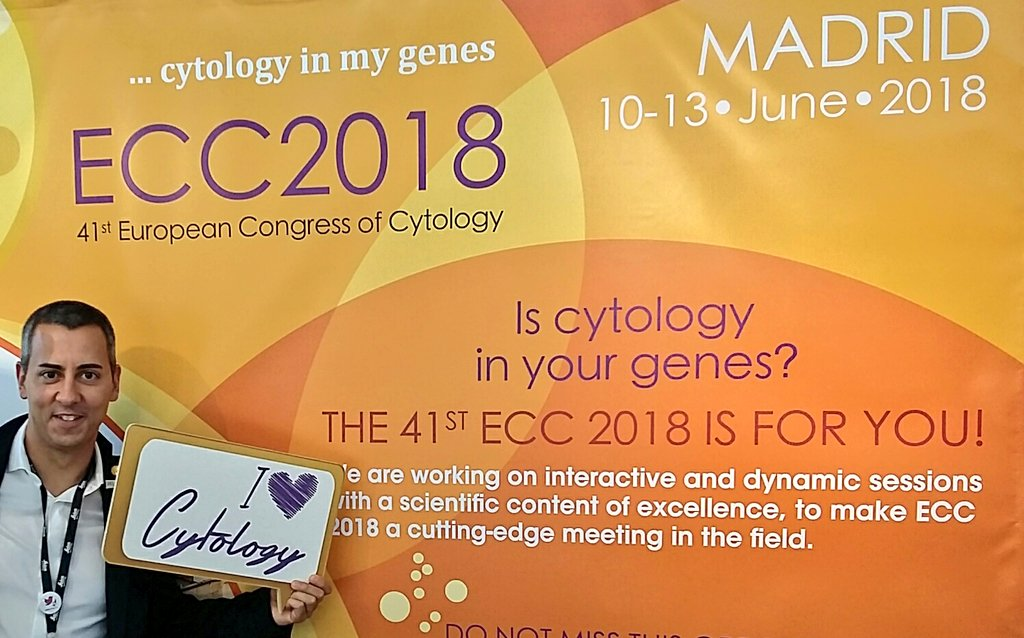 I&#39;m not gonna miss #ECC2018, the European Congress of #Cytology in #Madrid next year. Look at the Faculty! Amazing  What else? @EFCytology<br>http://pic.twitter.com/B3nvavfGdV