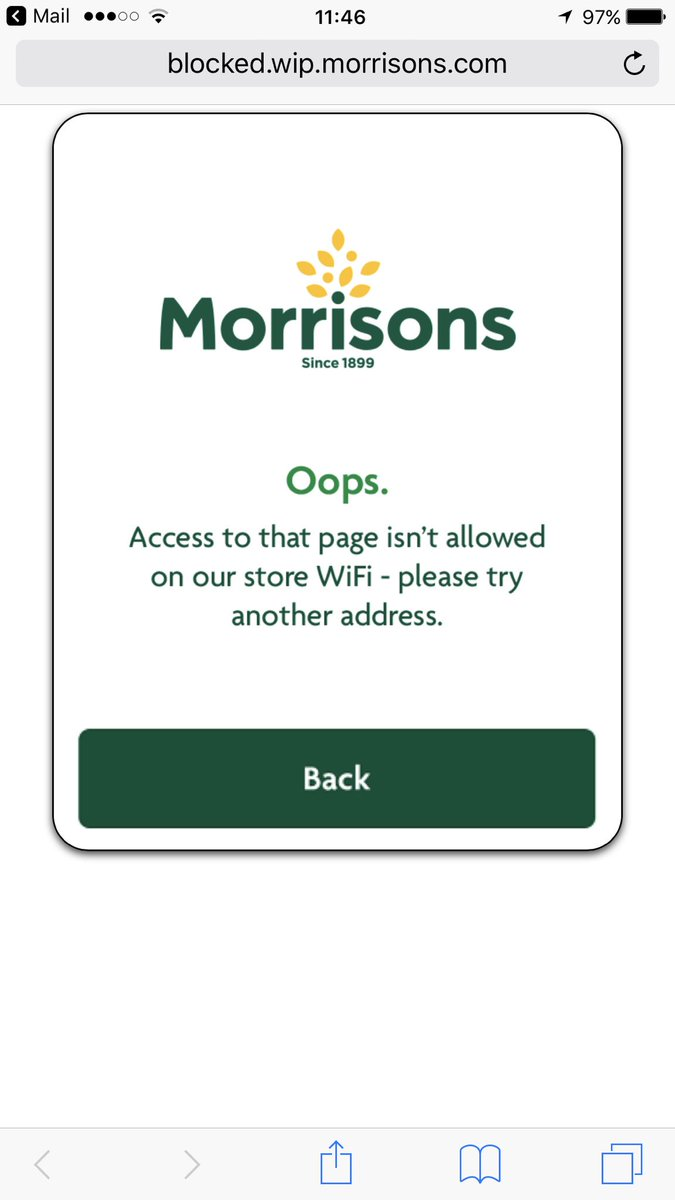 http://www. exploreyork.org.uk / &nbsp;   blocked by @Morrisons #Wifi @CityofYork clearly dodgy!!!<br>http://pic.twitter.com/nGQJmIcqT7