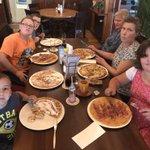 Laatste dag vakantie, traditionele afsluiting, pannenkoeken eten