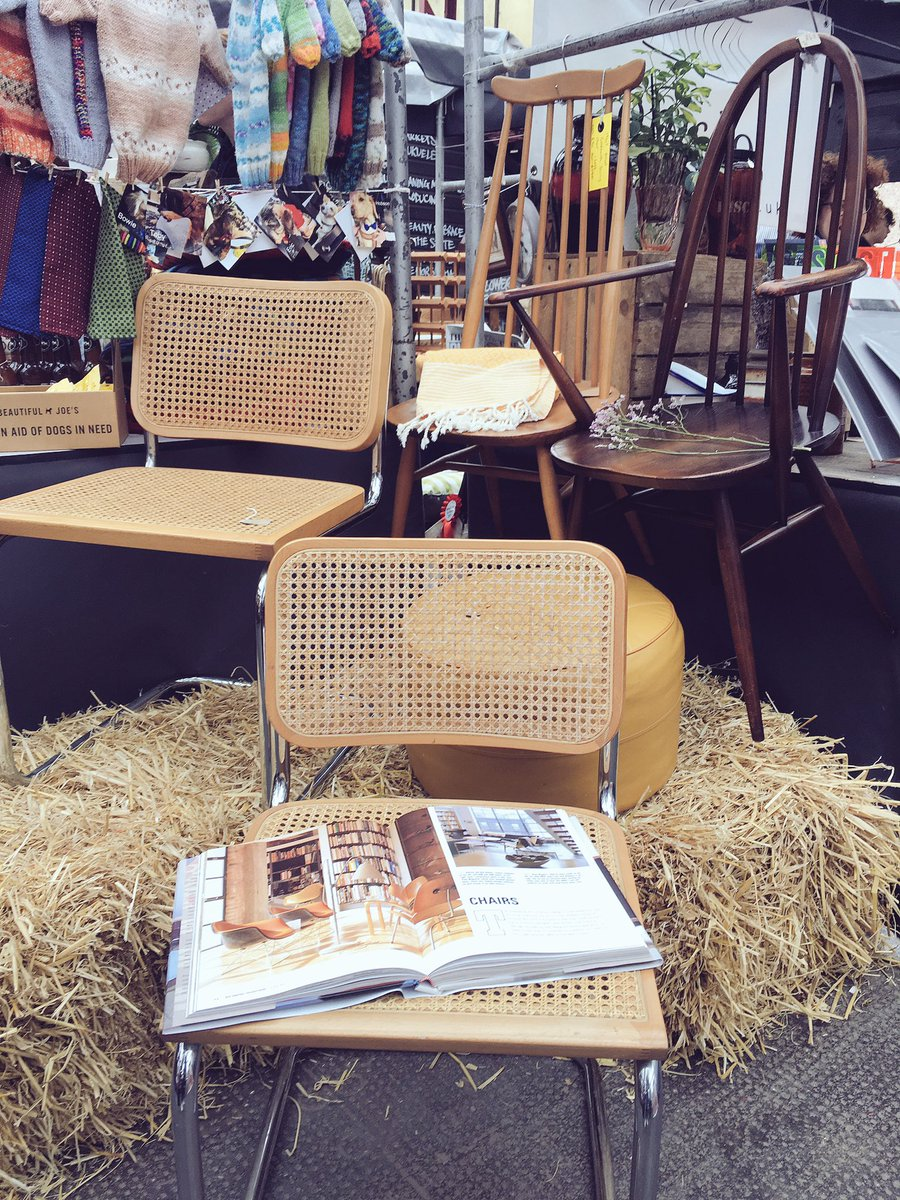 Marcel Breuer&#39;s Cesca chair &amp; a couple of Ercol classics available from @emslieshop today! @altrinchammkt 10-4 #MidCenturyModern <br>http://pic.twitter.com/sUcY46dRfj