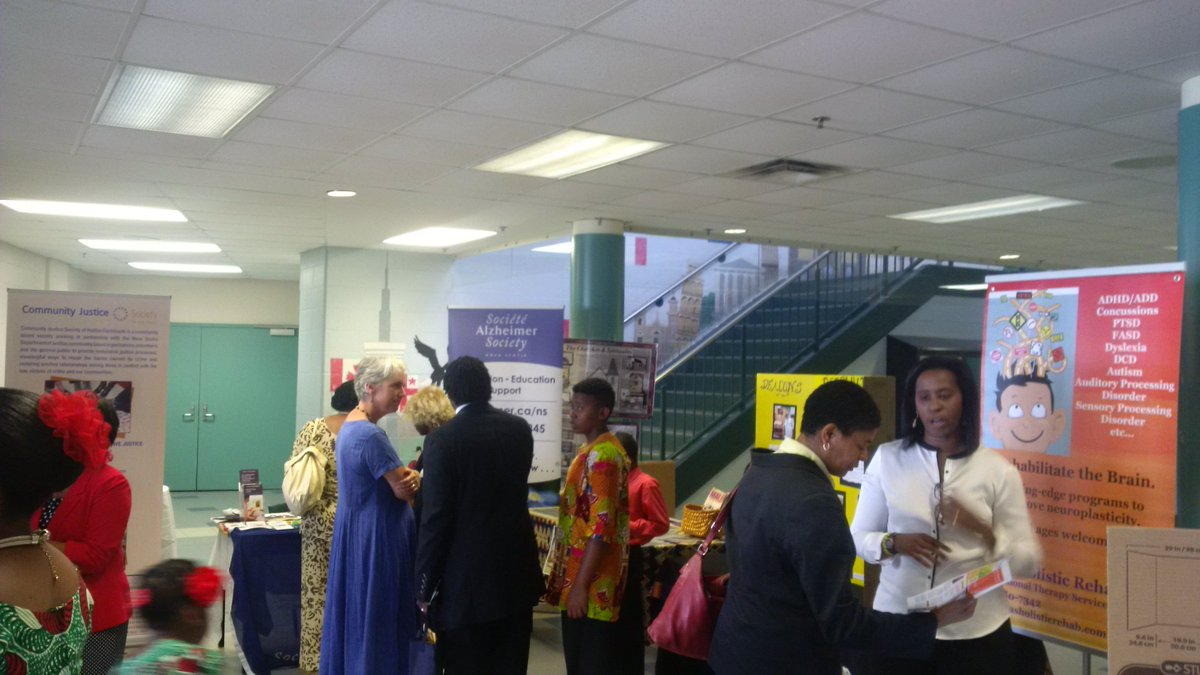 Great to see so many people and delegates out at #AUBA today with @therealLJA Worship Leader.  @HfxRegPolice<br>http://pic.twitter.com/0qmIeN52Up