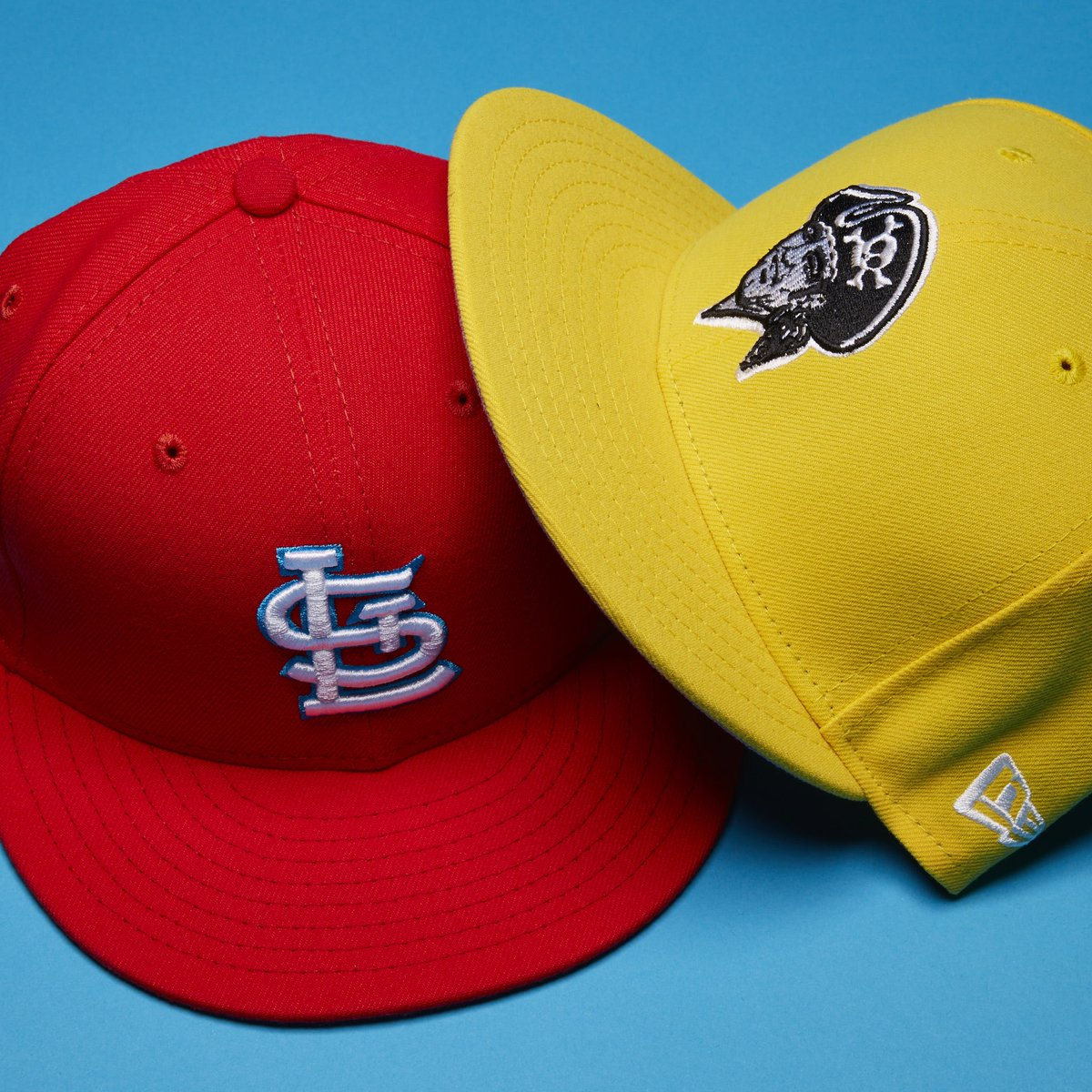 465e3ee7cb4d1 The Pirates caps were definitely a brighter shade of gold