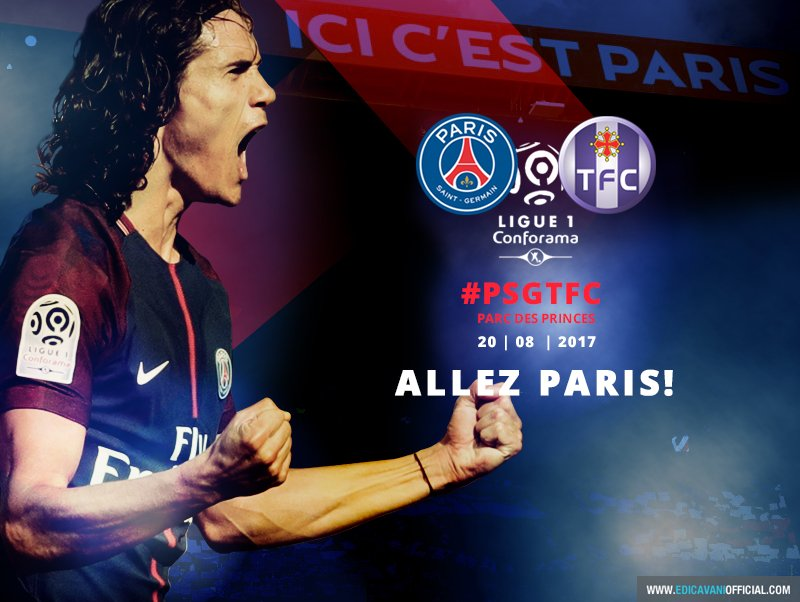 ALLEZ PARIS! #PSGTFC https://t.co/eV2oekIjI6