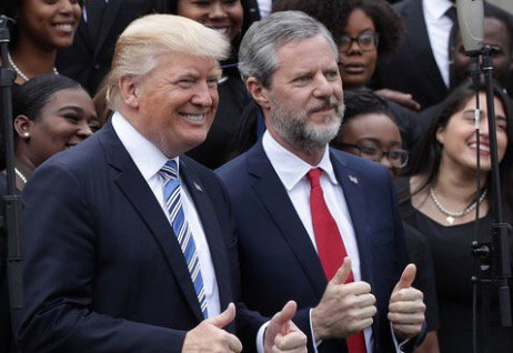 Some Liberty Univ. Grads Returning Diplomas To Protest #Trump, Jerry Falwell Jr. : NPR  http:// ow.ly/FGZE30exEkM     #edchatterpic.twitter.com/EnMzKObMWR