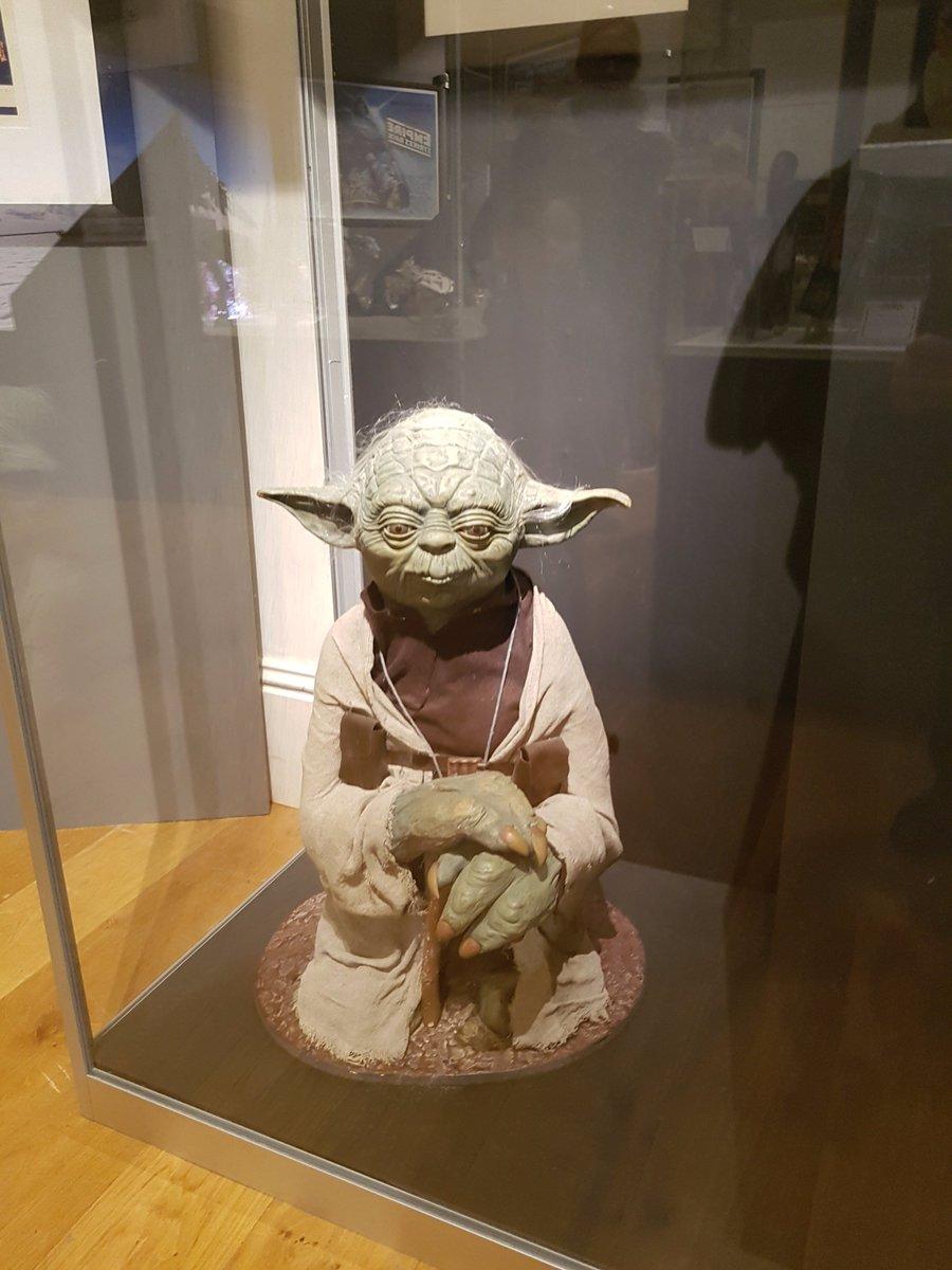 Found this little guy in our local museum.  http://www. metalmodelsuk.com  &nbsp;   #starwarsfacts #attackoftheclones #obiwankenobi #obiwan #darthvader<br>http://pic.twitter.com/v2HRlM6Ivy
