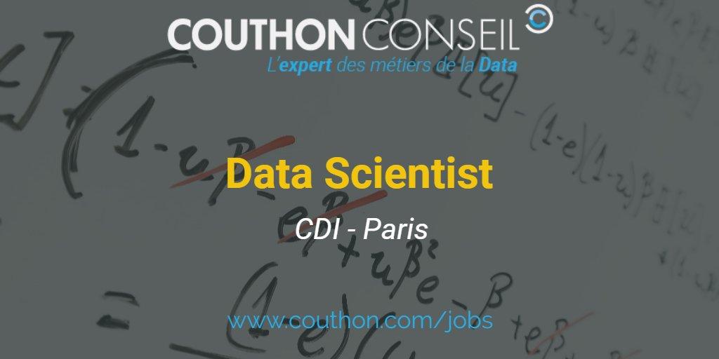 [#CDI - #Paris] Lead #DataScientist en #Startup    http:// bit.ly/2vUpWCL  &nbsp;    #BigData #DataScience #NLP #AI #MachineLearning #DeepLearning<br>http://pic.twitter.com/13MGhdW2gH