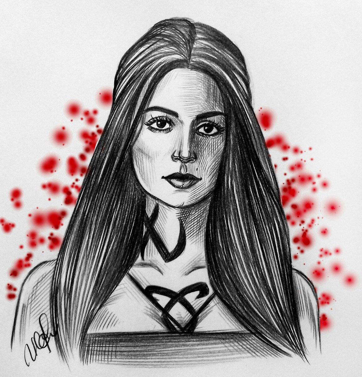 BEAUTIFUL GIRL @EmeraudeToubia  @ShadowhuntersTV  #Shadowhunters #IsabelleLightwood #EmeraudeToubia #FanArt #sketch #art<br>http://pic.twitter.com/6ceXFk3fPU