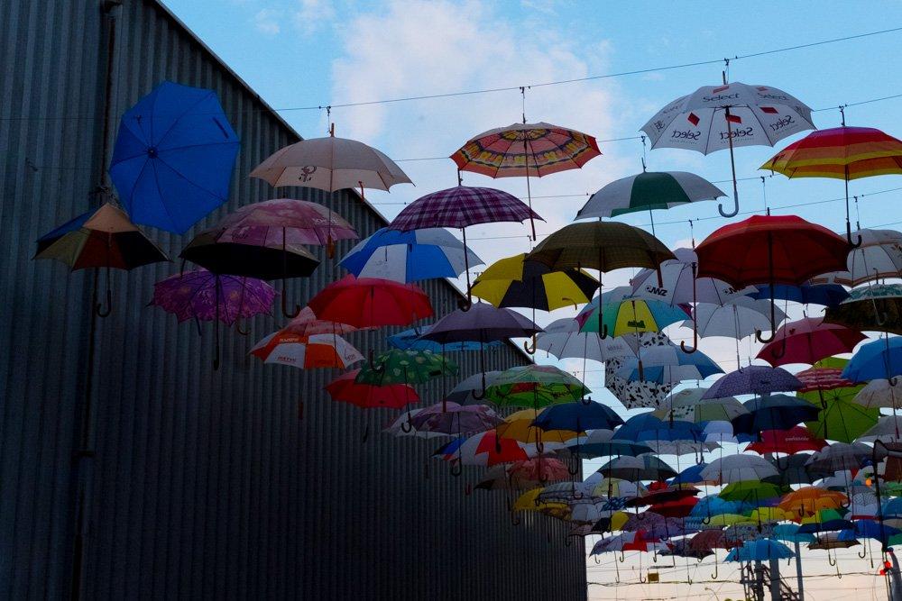 Umbrellas installation near Hive Club in Zurich   http:// shootzurich.com/umbrella-insta llation-near-hive-club/ &nbsp; …   #zurich #Zuerich #switzerland #schweiz #clubbing #umbrella #art<br>http://pic.twitter.com/Ye3UuO1kcY