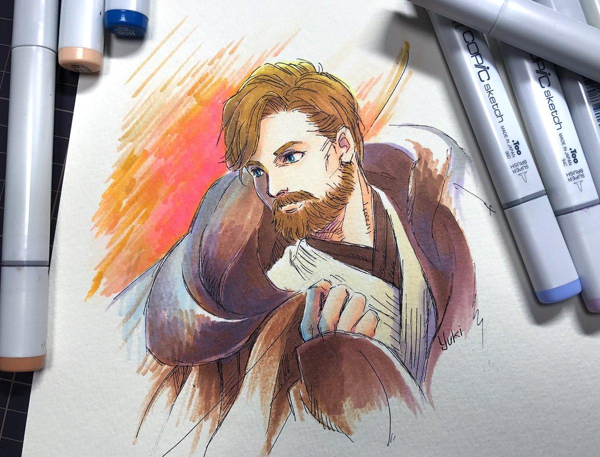 I&#39;m really excited about Obi-Wan Kenobi Film  #StarWars #fanart<br>http://pic.twitter.com/gkoKljsIKz