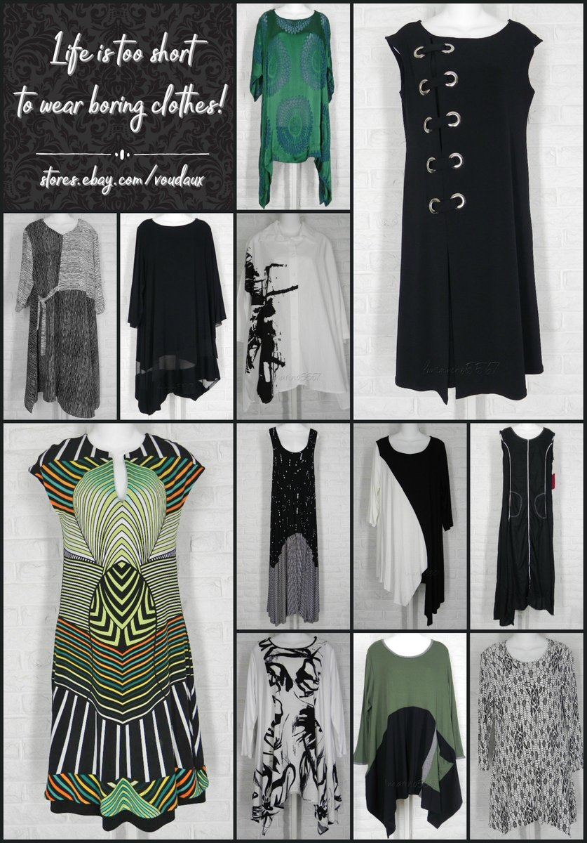 Life is too short to wear boring clothes!  http:// tinyurl.com/hn65weq  &nbsp;   #ebay #giftsforher #clothing #fashion #accessories #jewelry #shopsmall<br>http://pic.twitter.com/jX6EKij7M0