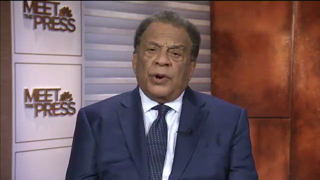 WATCH: Civil Rights activist Andrew Young says Trump is thinking with...