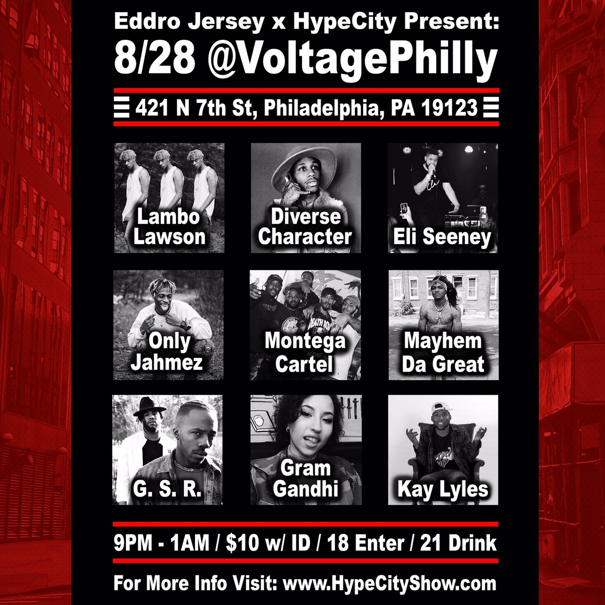 #828Show w/ @EliSeeney @CallHimLambo @VerseCharacter @Mayhem215 @gramgandhi @P0PPY_O + more  @voltageLounge #hiphop #rave #philly <br>http://pic.twitter.com/aS0FxjFxzC