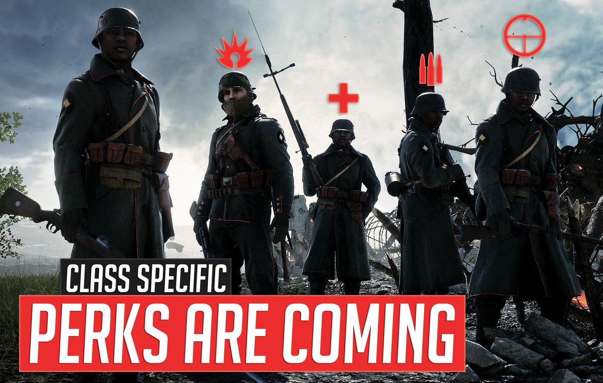 PERKS are coming to #Battlefield1 #Dice #teamEmmmmsie #WaveformGaming #supportsmallstreams #teamfilthy @Chaotic_rts  https:// goo.gl/A7B8WN  &nbsp;  <br>http://pic.twitter.com/Zt1S4Z3n27