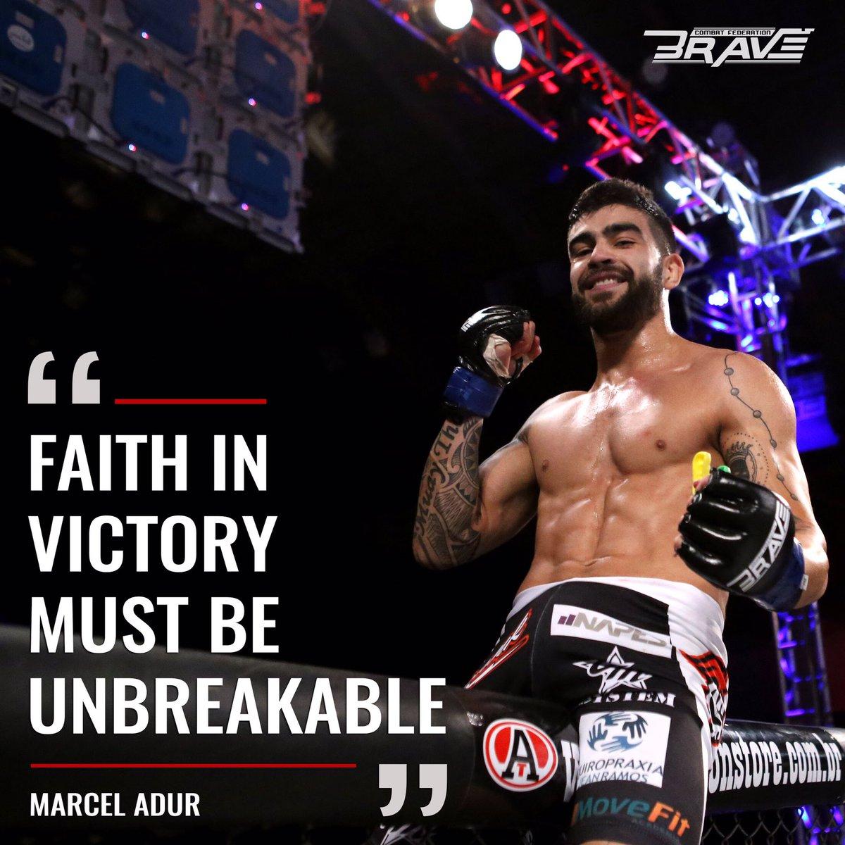 RT bravemmaf: Faith inspires MarcelAdurMMA to be a winner. What about you? #BraveCF8 #MMA #MMANews #Brasil #Motiva… <br>http://pic.twitter.com/KsDsXvZEx5