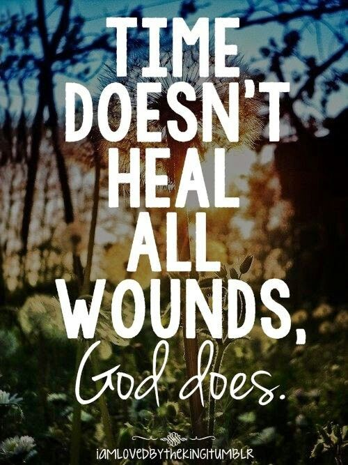 Time doesn&#39;t heal all wounds, GOD DOES!!  #GodisGreater #JesusHeals #JesusSaves #JesusLovesYou #TrustGod #GiveItToGod #LivingWithJoost<br>http://pic.twitter.com/O7vu9FwMUH
